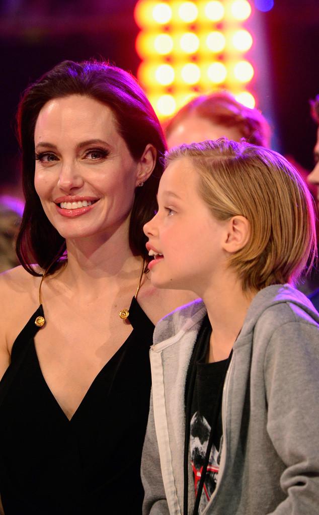Angelina Jolie, Shiloh Nouvel Jolie-Pitt, Kids Choice Awards