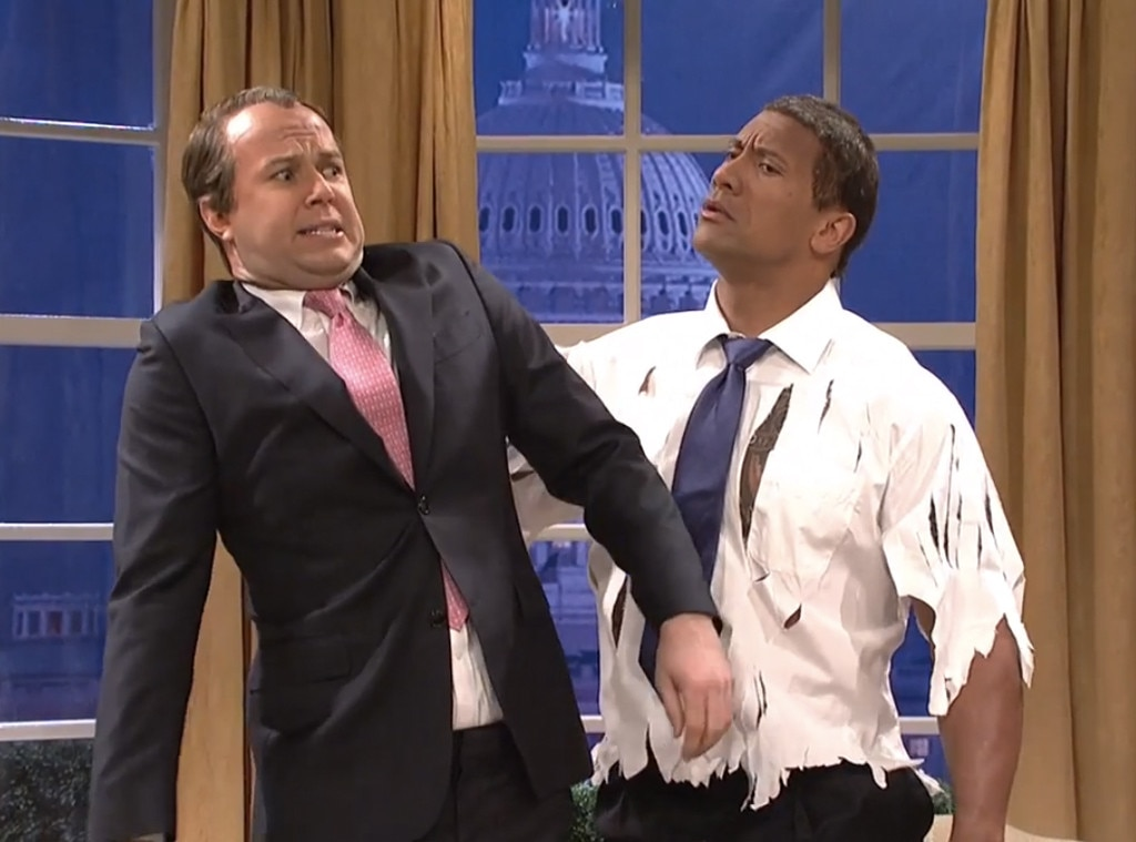 The Rock, SNL