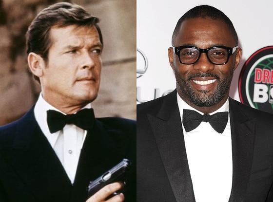 Roger Moore, Idris Elba