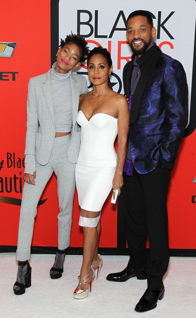 Willow Smith, Jada Pinkett Smith, Will Smith, Black Girls Rock!