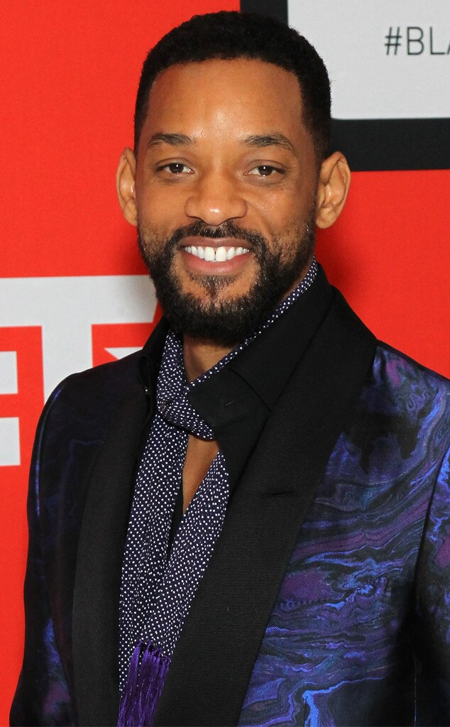 Excellent Will Smith News Pictures And Videos E News Hairstyles For Women Draintrainus