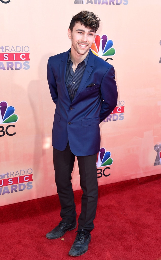 max schneider from 2015 iheartradio music awards red carpet arrivals e news. Black Bedroom Furniture Sets. Home Design Ideas