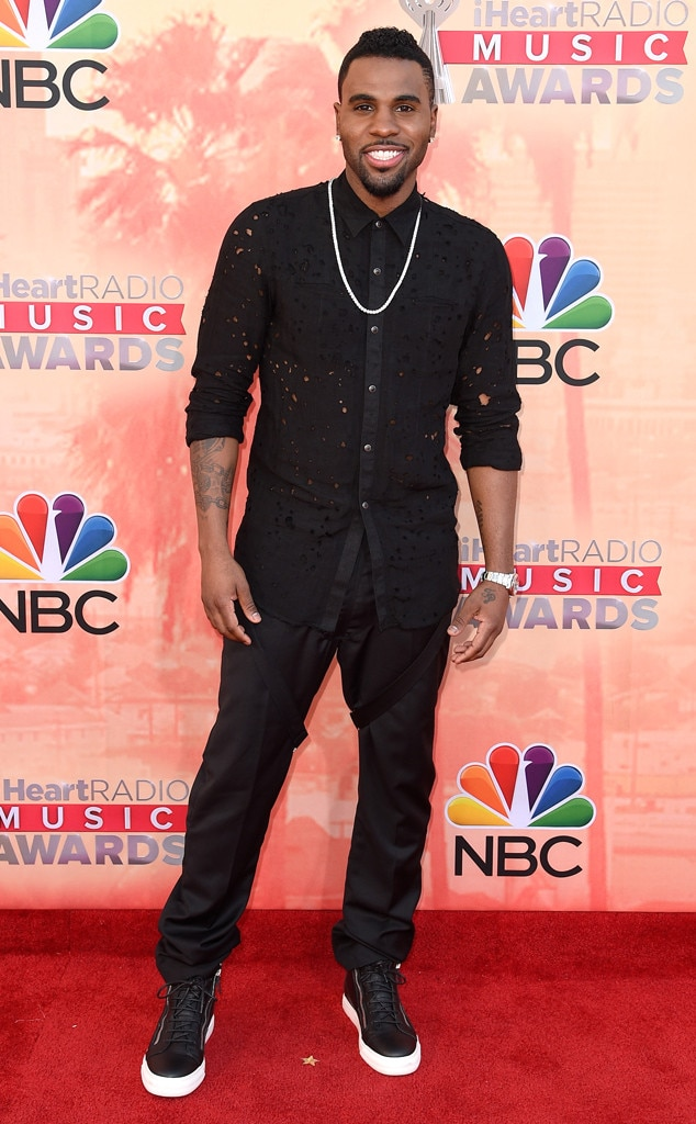 Jason Derulo From 2015 Iheartradio Music Awards Red Carpet