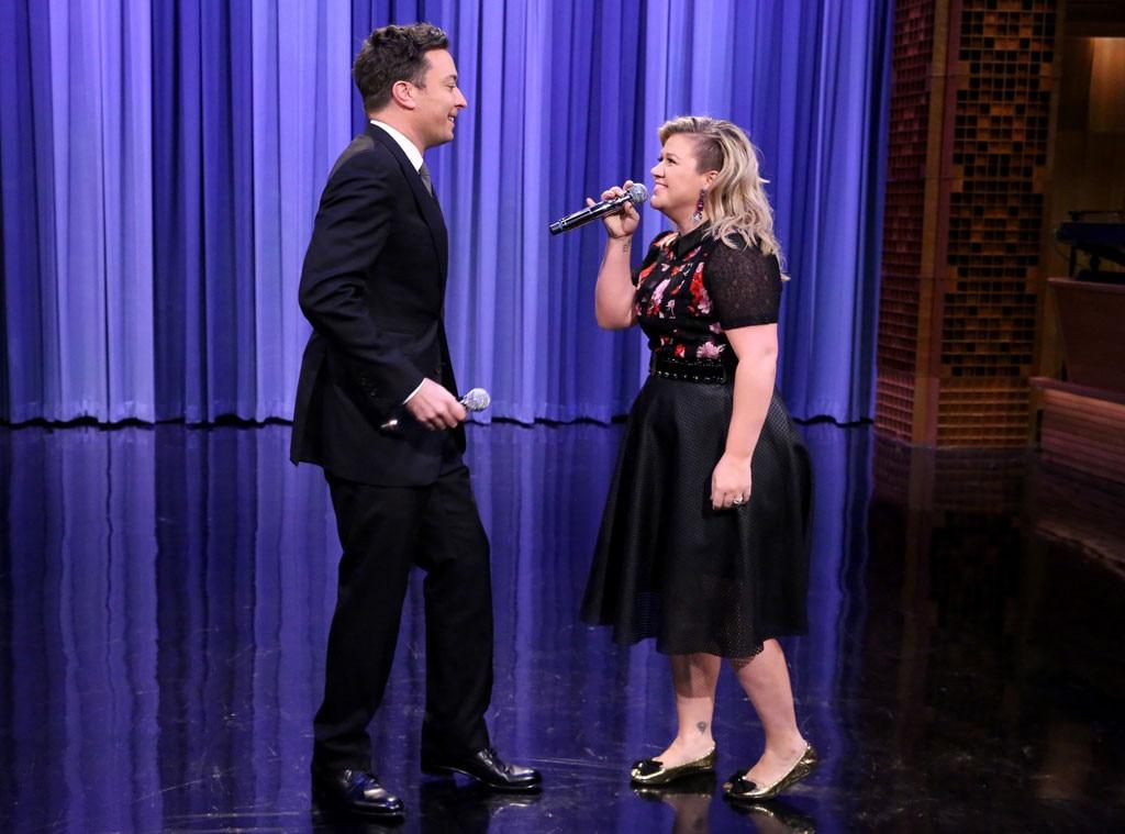 Kelly Clarkson, Jimmy Fallon, Tonight Show