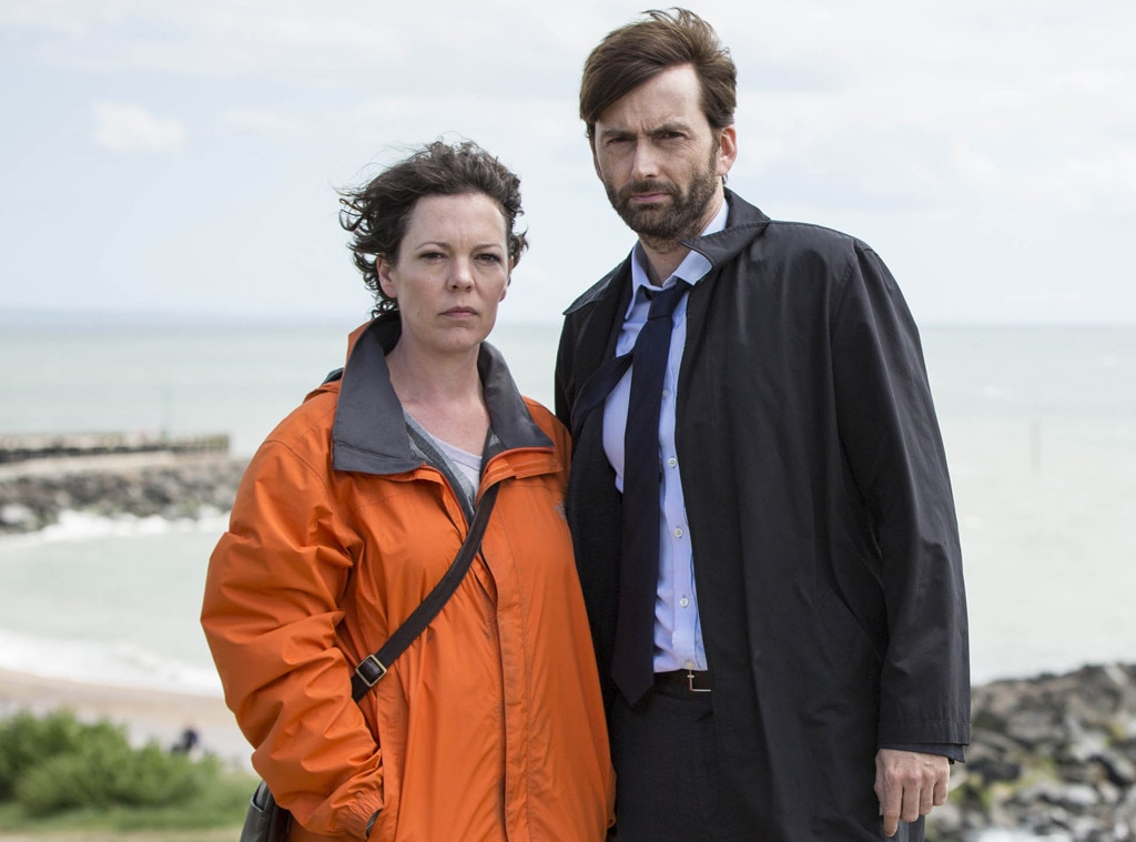David Tennant, Olivia Colman, Broadchurch