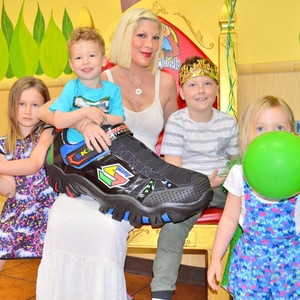 Tori Spelling, Liam's 8th Birthday
