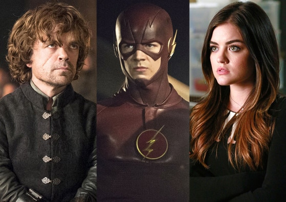 Peter Dinklage, Lucy Hale, Grant Gustin