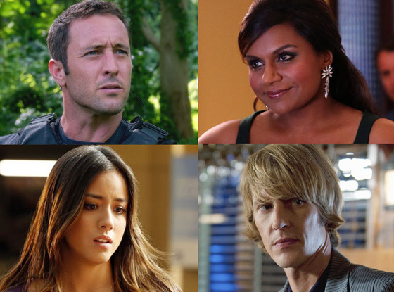 Save One Show, Hawaii Five-0, Mindy Project, Agents, Revenge