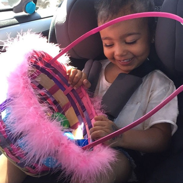North West, Kim Kardashian Instagram