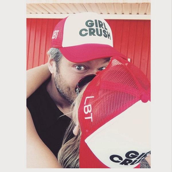 Blake Shelton, Miranda Lambert, Instagram