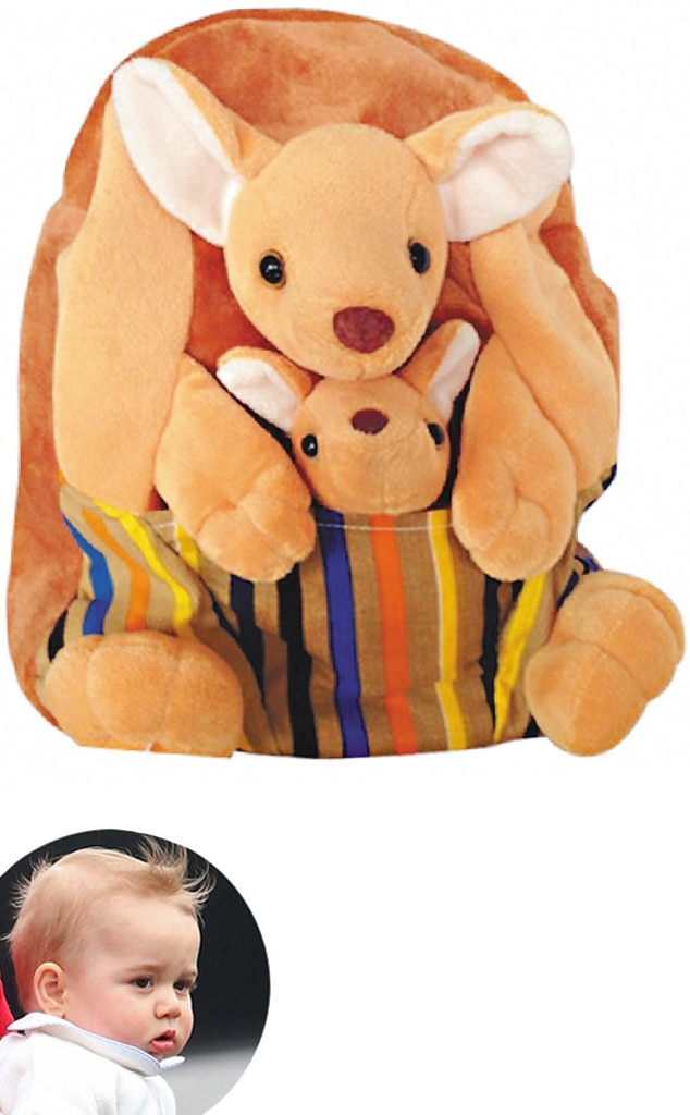 Prince George, Kangaroo Backpack