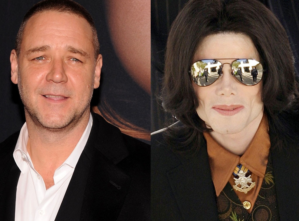 Russell Crowe, Michael Jackson