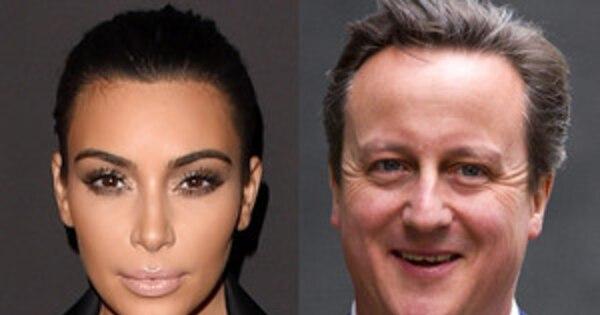 Prime Minister David Cameron Says Hes Related To Kim Kardashian - David cameron tweets phone obama selfie celebrities create parodys