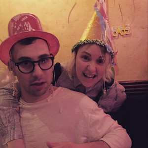 Jack Antonoff, Lena Dunham, Birthday