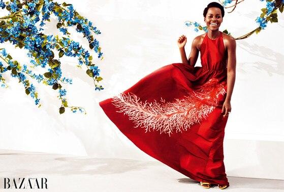 Lupita Nyong'o, Harper's Bazaar UK