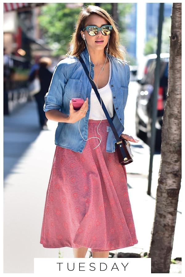 ESC, 5 Ways To Wear Chambray, Tuesday