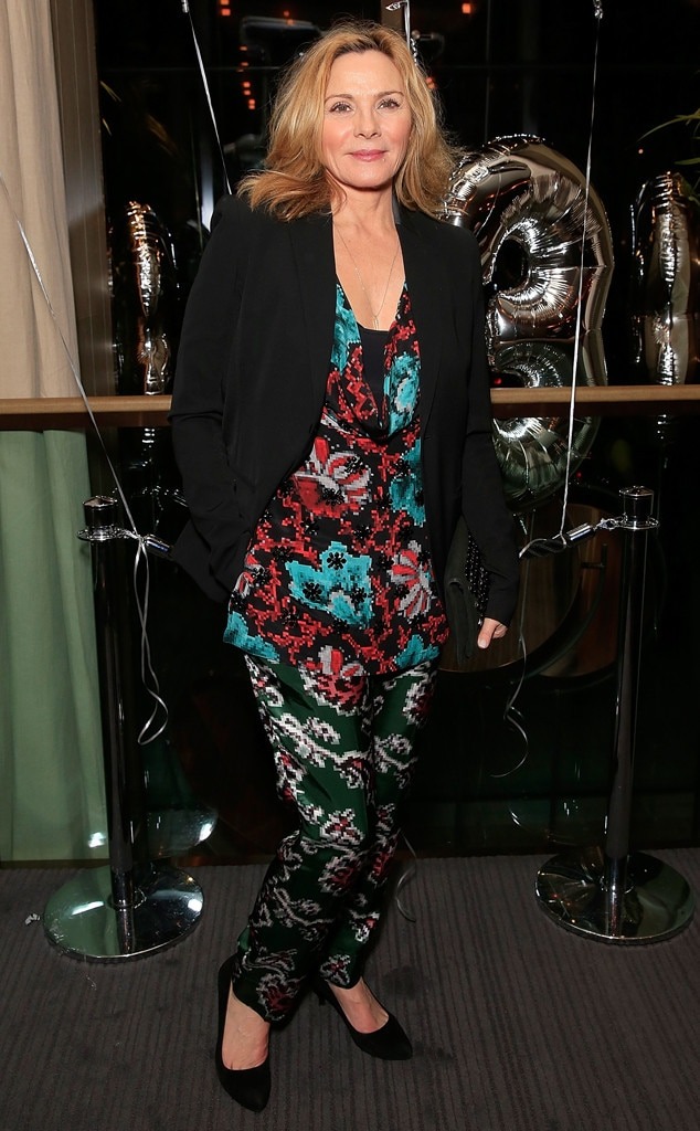 Kim Cattrall Does Not Have Kids, but She Still Considers ... Kim Cattrall