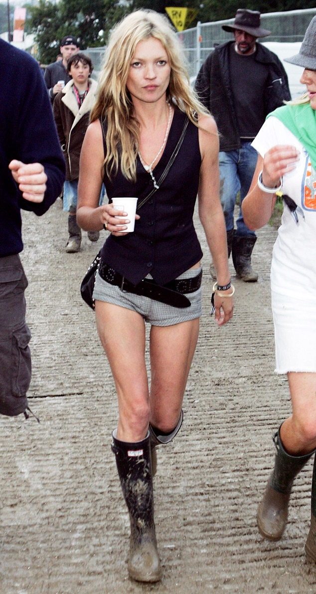 Kate Moss, Glastonbury 2005