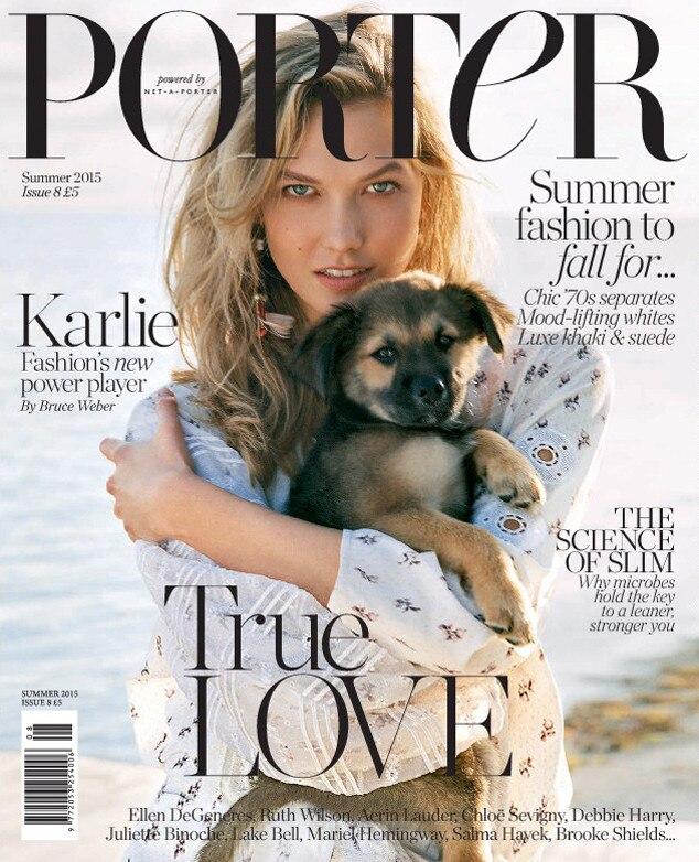 Karlie Kloss, Porter Magazine, EMBARGO UNTIL 4/01/2015