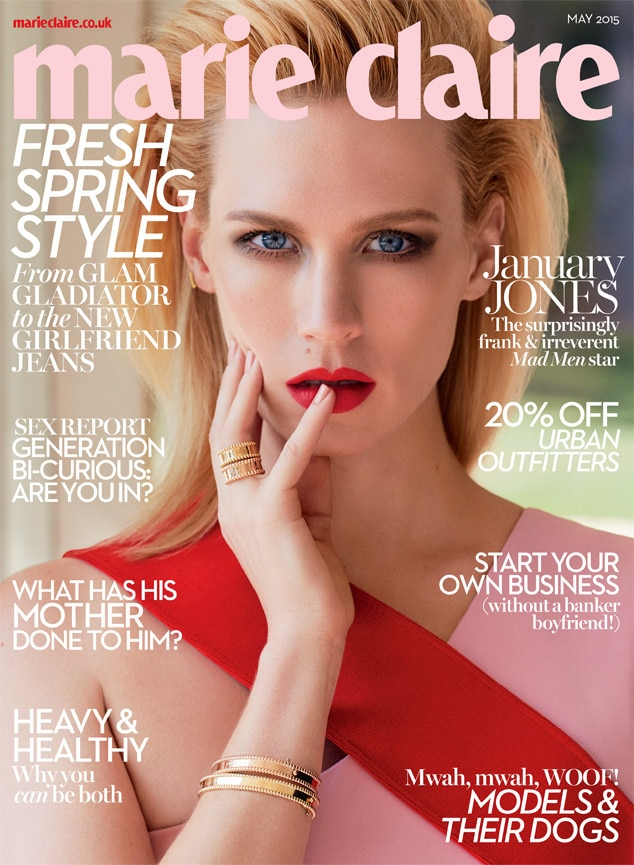 January Jones, Marie Claire UK