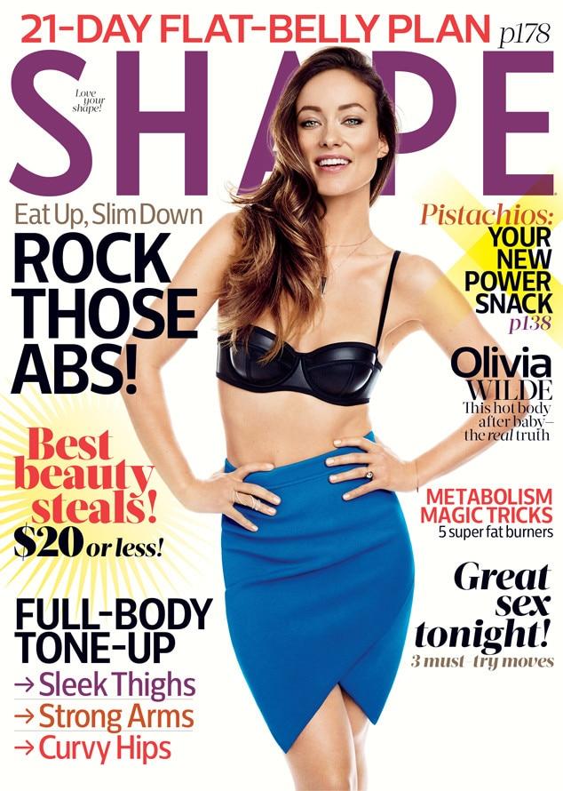 Olivia Wilde, Shape