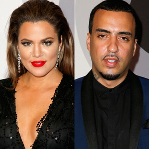 Khlo 233 kardashian and french montana acting very much as a couple