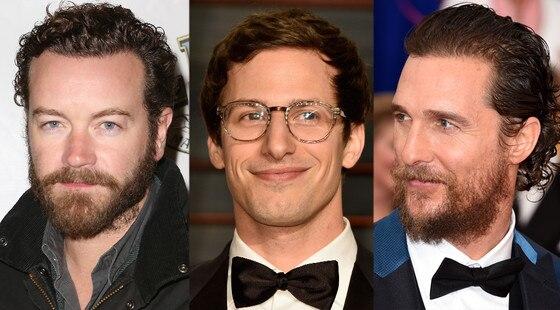 Men Hair Trends, Danny Masterson, Andy Samberg, Matthew McConaughey