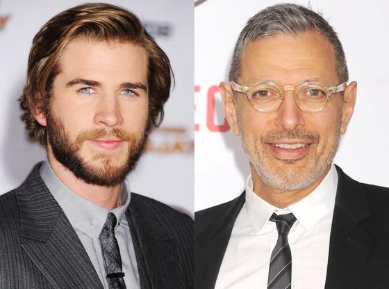 Liam Hemsworth, Jeff Goldblum