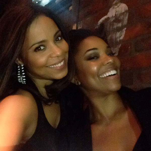 Sanaa Lathan and Gabrielle Union