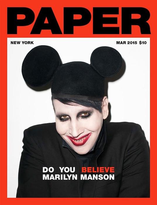 Marilyn Manson, Paper Magazine