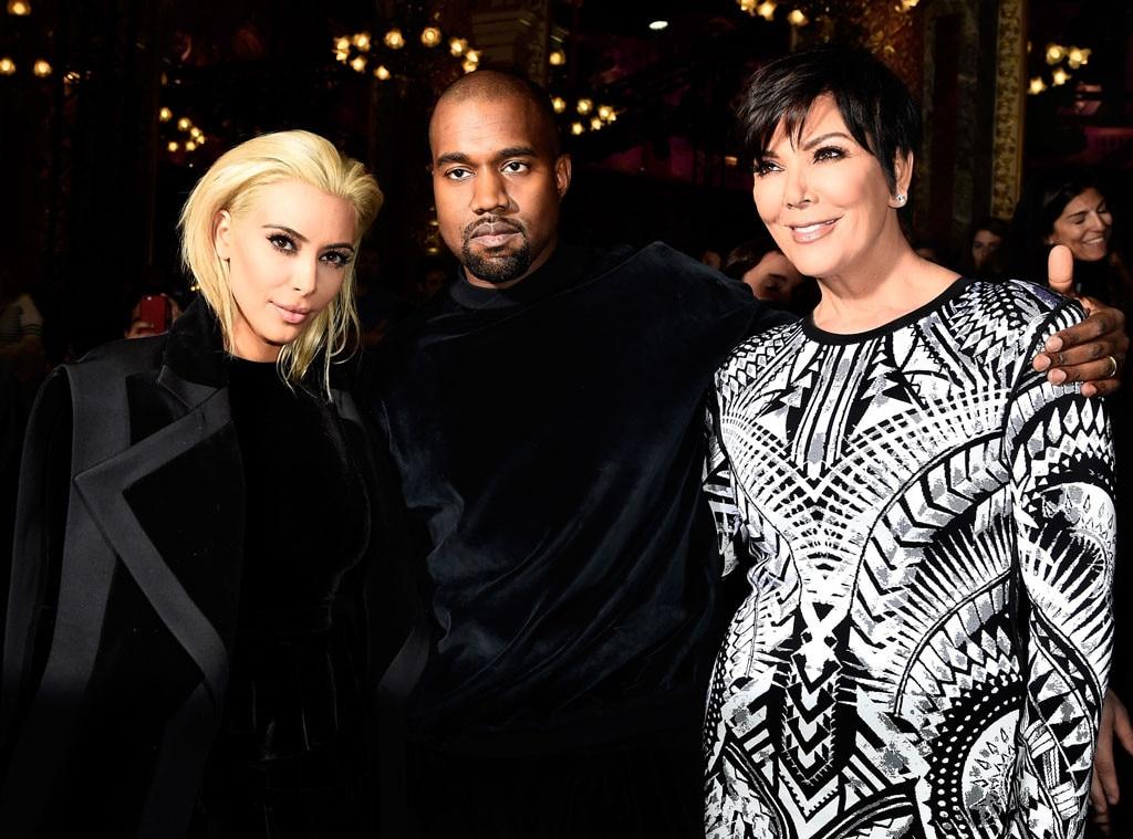 Kim Kardashian, Kanye West, Kris Jenner