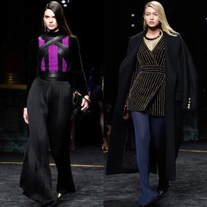 Kendall Jenner, Gigi Hadid, Paris Fashion Week