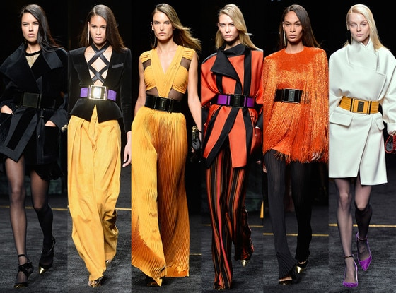Victoria's Secret, Balmain, Paris Fashion Week