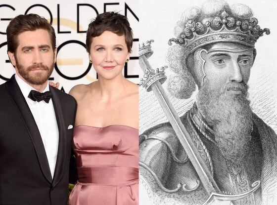 Celebs Related to Royals, Jake Gyllenhaal, Maggie Gyllenhaal, King Edward III of England