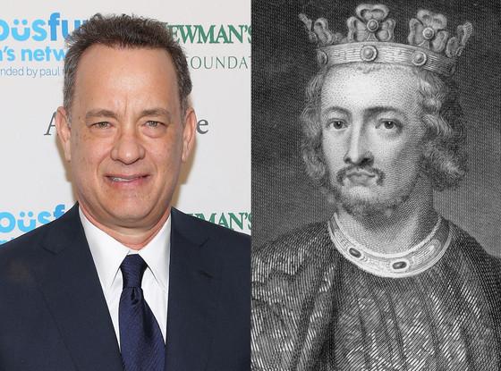 Celebs Related to Royals, Tom Hanks, King John of England