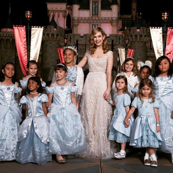 Lily James, Disney, Cinderella