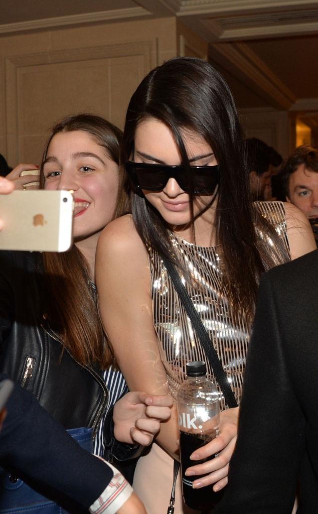 Kendall Jenner, Balmain, Paris Fashion Week