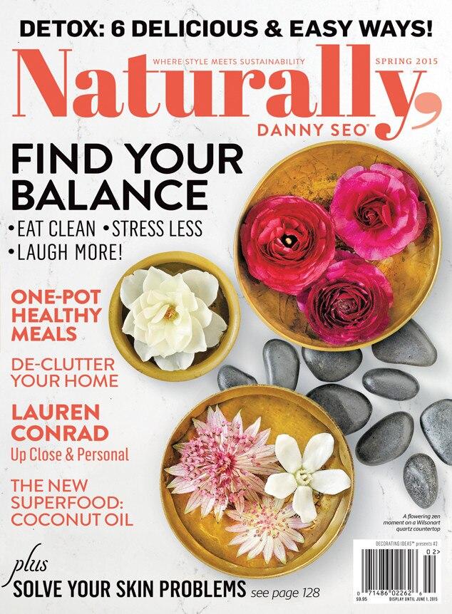 Naturally, Danny Seo Magazine, Lauren Conrad