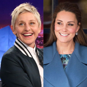 Celebs Related to Royals, Ellen DeGeneres, Kate Middleton