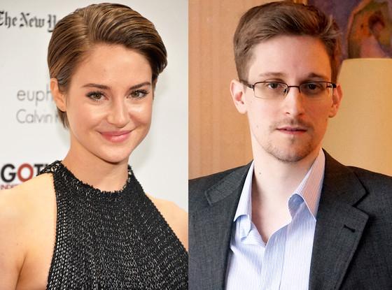 Shailene Woodley, Edward Snowden