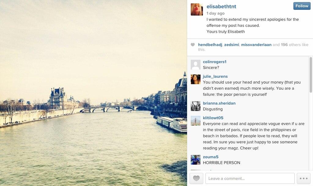 Elisabeth von Thurn und Taxis, Instagram