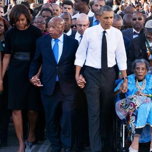 Obamas, Selma