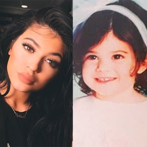 KYLIE JENNER THROUGH THE YEARS