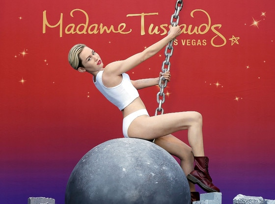 Miley Cyrus, Madame Tussauds Wax Figure
