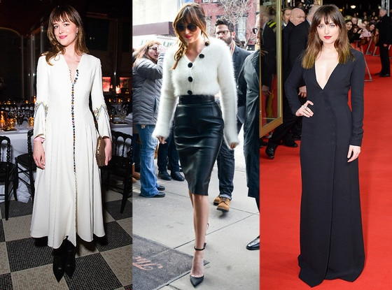 Dakota Johnson, Button Trend