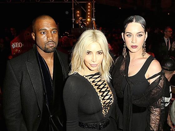 Kim Kardashian, Kanye West, Katy Perry