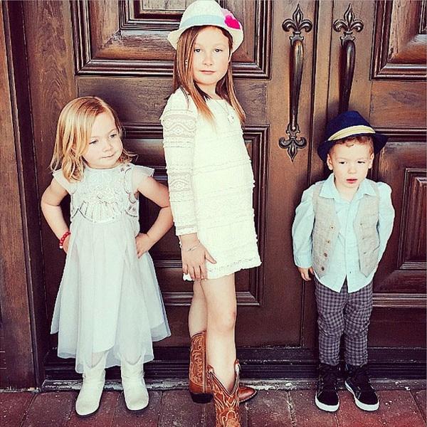 Tori Spelling, Kids, Cinderella Screening