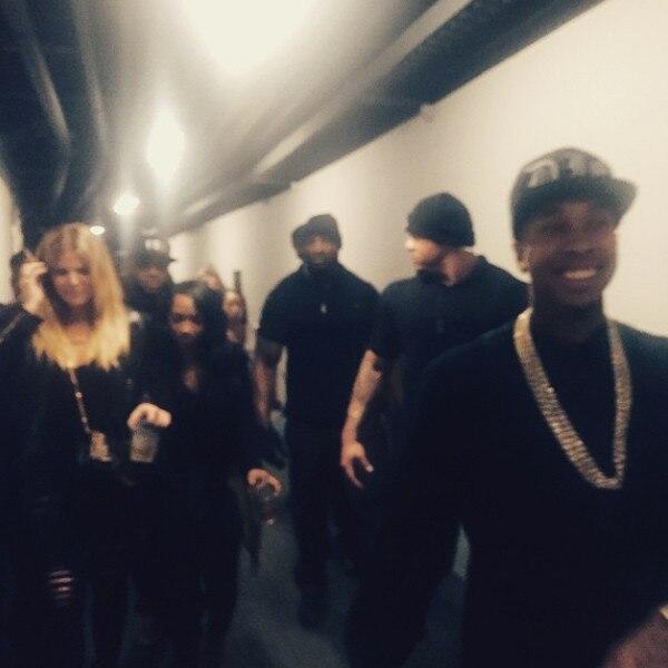 Khloe Kardashian, Kylie Jenner, French Montana, Tyga, Instagram