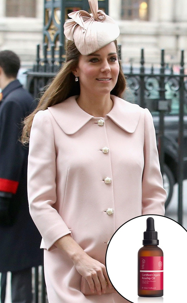 Kate Middleton, Organic Rosehip Oil