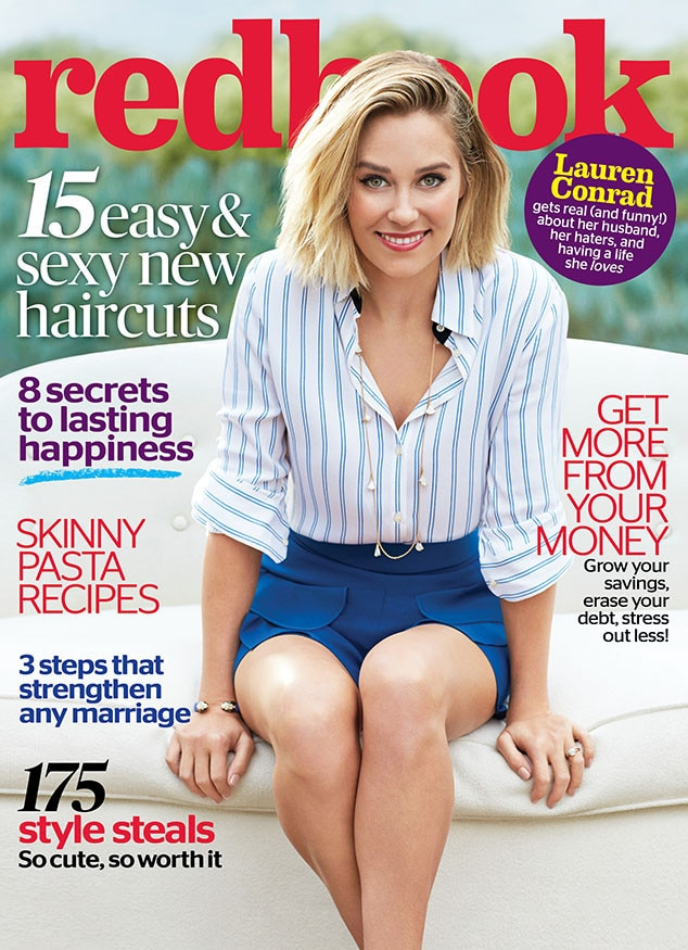 Lauren Conrad, Redbook Magazine, EMBARGO until 4am PST 03/10/15